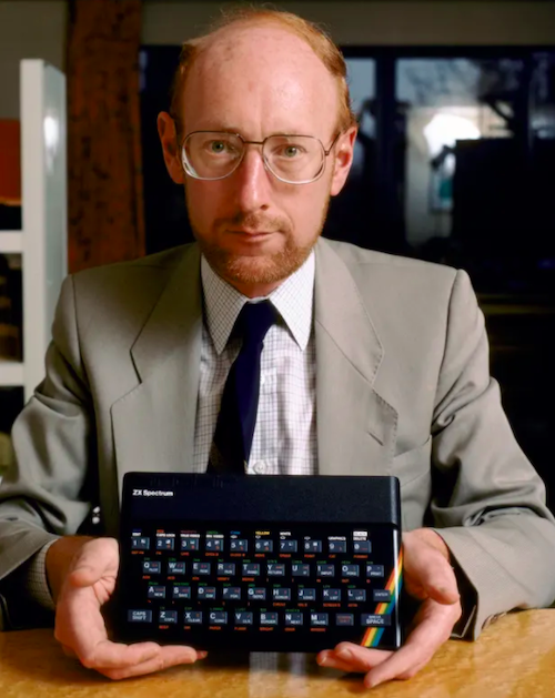 Sir Clive Sinclair and the ZX Spectrum