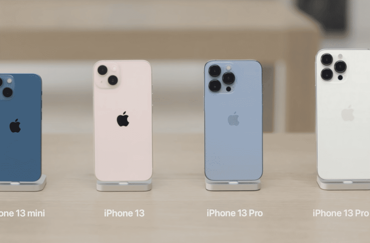 iPhone 13 Pro and iPhone 13 online guided tour goes live