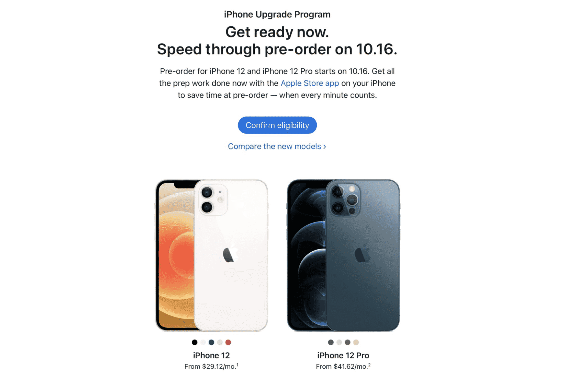 Pre-approvals for iPhone 13 via iPhone upgrade program now open