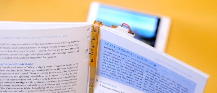 """""""Magic Bookmark"""" Brings eBook Features to Print in a Sustainable Package"""